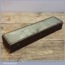 Vintage Transparent Honing Stone - Possibly Made From Glass