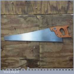 "Vintage Spear & Jackson 26"" Cross Cut Handsaw 5 TPI - Refurbished Sharpened"