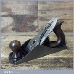Vintage Stanley England No: 4 ½ Wide Bodied Smoothing Plane - Fully Refurbished