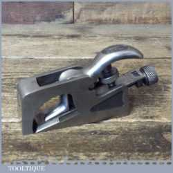 Vintage Record No: 077A Bull Nose Or Chisel Plane - Fully Refurbished
