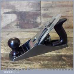 Modern Stanley England No: 4 Smoothing Plane - Fully Refurbished Ready To Use