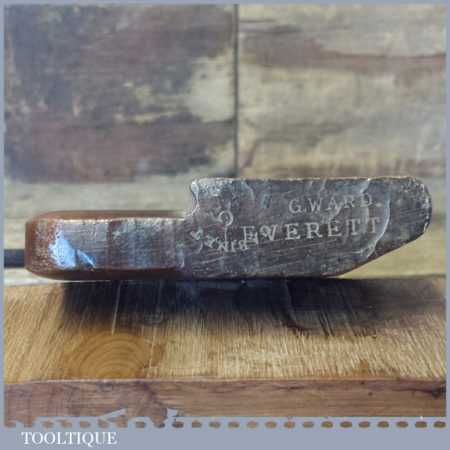 Antique Varvill & Sons No 5 Hollowing Beechwood Moulding Plane