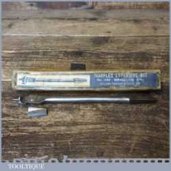 "Vintage W. Marples Expansion Bit Two Cutters ½"" – 1 ½"" Original Box"