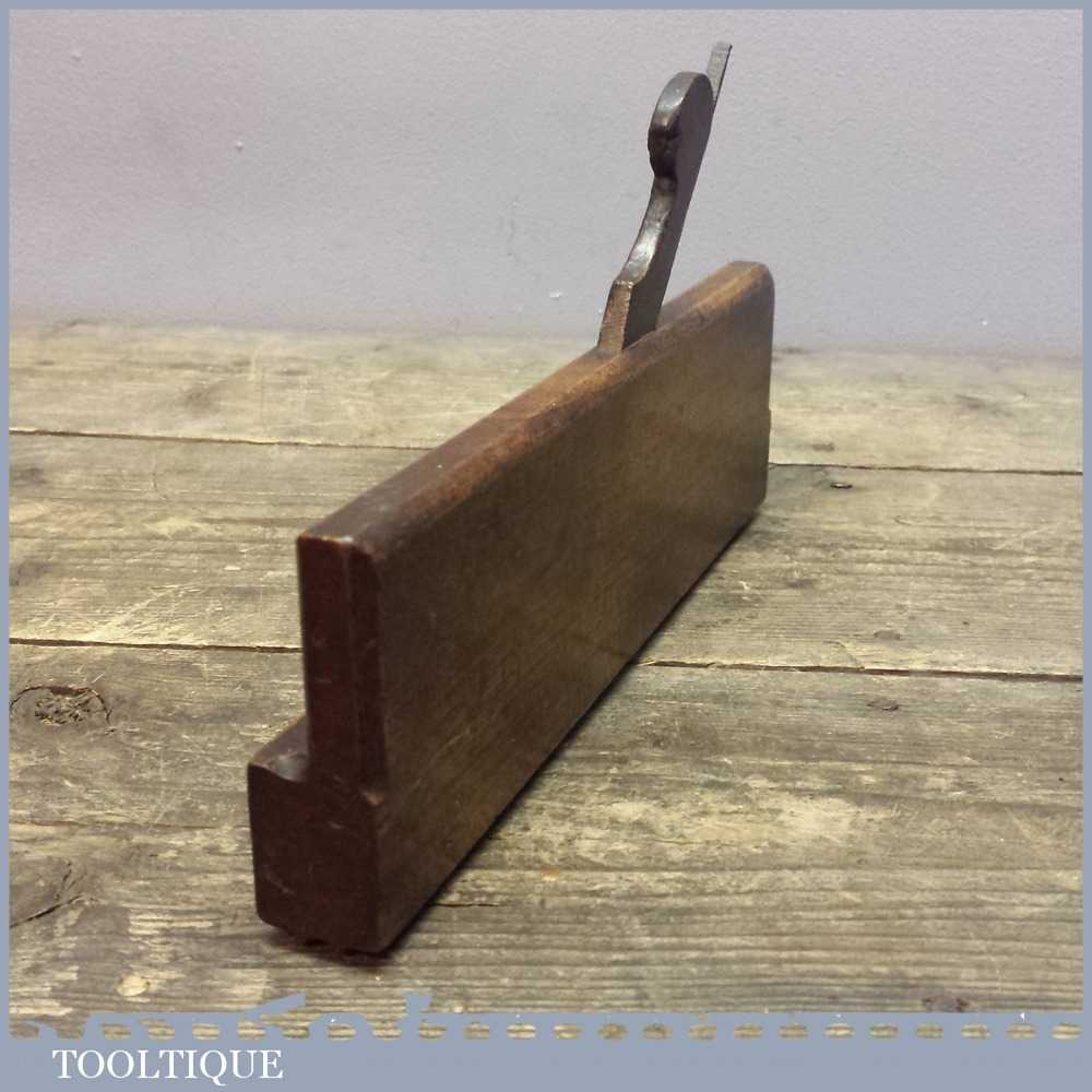 Scarce Vintage Center Reed Moulding Plane - Old Woodworking Tool