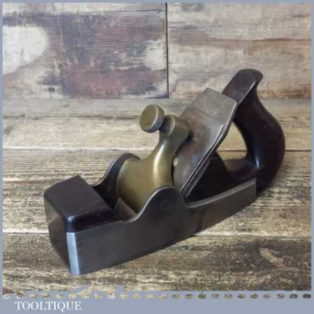 Antique Alex Spiers Of Ayr Smoothing Plane Complete - Good Condition
