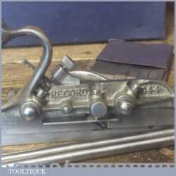 Vintage Record No: 044 Plough Plane Complete 8 Cutters - Fully Refurbished