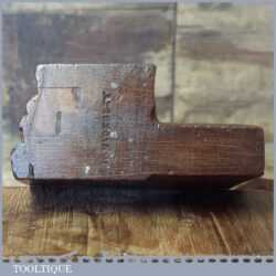 Antique Scotia Beechwood Moulding Plane - Good Used Condition