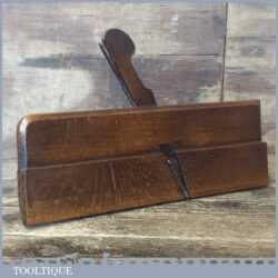 Antique T. Harrison No: 6 Hollowing Beechwood Moulding Plane - Good Condition