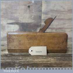 Antique Varvill & Sons No: 10 Rounding Beechwood Moulding Plane - Good Condition