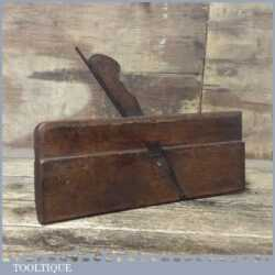 Vintage C. Nurse & Co No: 6 Hollowing Beechwood Moulding Plane - Good Condition