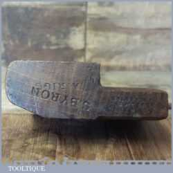 Antique Gleave No: 12 Hollowing Beechwood Moulding Plane - Good Condition