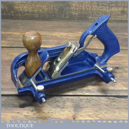Vintage Record No: A78 Twin Arm Duplex Rabbet Plane Complete - Fully Refurbished