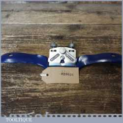 Vintage Record No: 0151 Adjustable Curved Sole Metal Spokeshave - Ready To Use