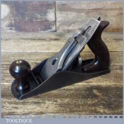 Vintage Pre War Stanley USA No: 4 Smoothing Plane Pat 1910 - Fully Refurbished