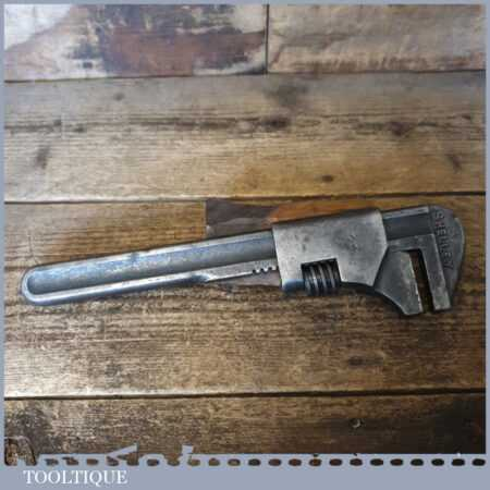 """Vintage Shelley 11"""" Adjustable Spanner Wrench - Good Used Condition"""