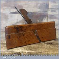 Antique Wm. Graves No: 6 Hollowing Beechwood Moulding Plane - Good Condition
