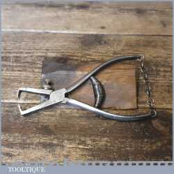 Vintage German Spring Loaded Wire Stripping Pliers - Good Condition