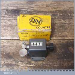 Vintage boxed ENM engineer's rev counter in good used condition.