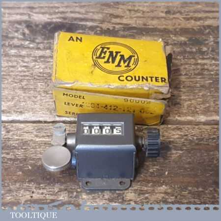 Vintage Boxed ENM Engineer's Rev Counter - Good Condition