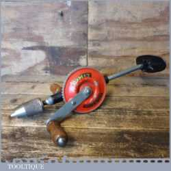 Vintage No: 100 Comet 2 Speed Breast Drill - Good Condition