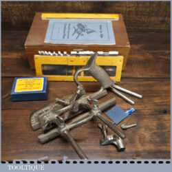 Vintage Boxed Record No: 050 Combination Plough Plane Complete - Fully Refurbished
