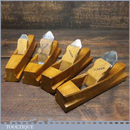 Set Of 4 No: Pattern Maker's Beechwood Block Planes - Excellent Condition
