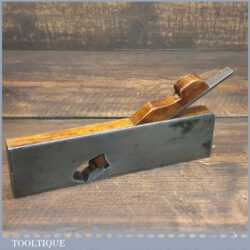 Antique Dovetailed Rabbet Shoulder Plane - Beechwood Infill