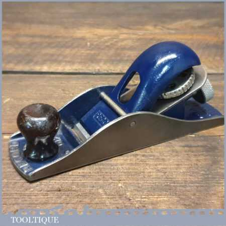 Vintage Record No: 0120 Adjustable Block Plane - Fully Refurbished Ready To Use