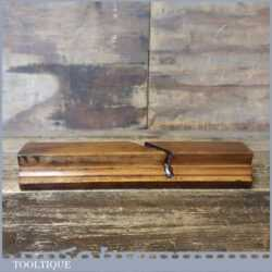 Antique Chas Gowland 1820-1858 No: 4 Sash Ovolo Beech Moulding Plane - Good Condition