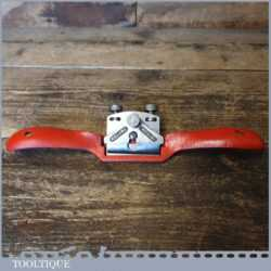 Vintage Record No: A151 Adjustable Flat Soled Metal Spokeshave - Fully Refurbished