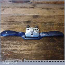 Vintage Record No: A151R Adjustable Curved Sole Metal Spokeshave - Fully Refurbished