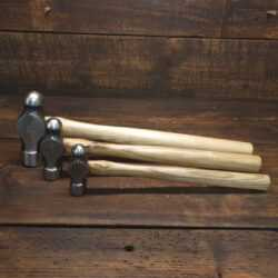 Set Of 3 Vintage Brades & Co Ball Pein Hammers 8oz 16oz & 32oz - Good Condition