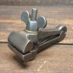 Vintage Spring Loaded Cast Steel Hand Vice - Good Condition