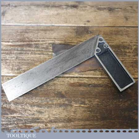 """Vintage Carpenters 6 ½"""" Cast Steel Try Square - Good Condition"""