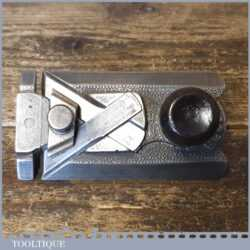 Vintage Record No: 2506 Side Rabbet Plane Complete - Refurbished Ready To Use