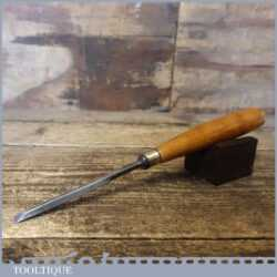 "L A & Co Ltd Sheffield Handy Carpenter's 11/32"" Bevel Edge Chisel"