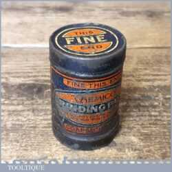 Vintage Chemico Tin Of Fine & Coarse Valve Grinding Paste - Used Condition