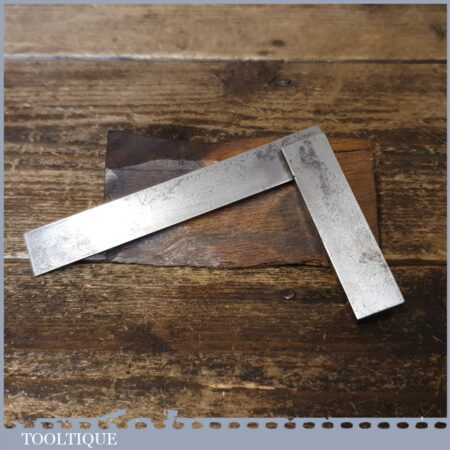 "Vintage Engineers 4 ¼"" Steel Square - Good Condition"