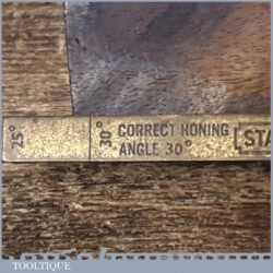 Vintage Stanley Plane Iron Honing Guide - Good Condition