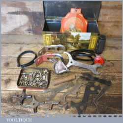 Vintage Collection Of Assorted Bicycle Parts & Tools - Good Condition