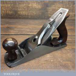Vintage Pre War Stanley USA No: 4 Smoothing Plane Pat 1910 - Fully Refurbished Ready To Use