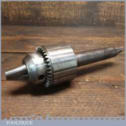 """Vintage Jacobs 1/8"""" – 5/8"""" Chuck No: 3A Morse Taper Shaft - Good Condition"""