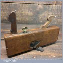 "Antique 5/8"" Beechwood Dado Plane - Good Condition"
