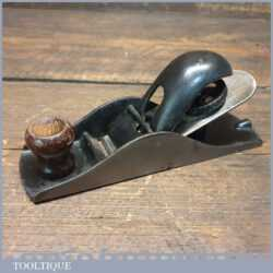 Vintage American Mfg. Co Block Plane - Fully Refurbished Ready To Use