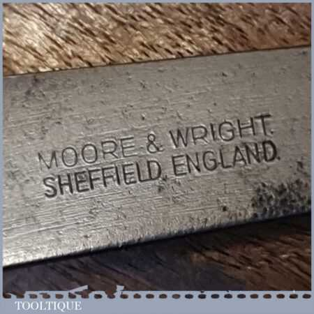 """Vintage Moore & Wright 6 ½"""" Outside Steel Callipers - Good Condition"""