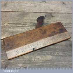 Vintage Moulding Plane Possibly By Davis - Good Condition
