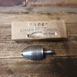 "Vintage Boxed Ace 3 Jaw ½"" Drill Chuck - Good Condition"