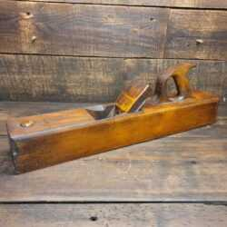 "Nice Vintage Carpenter's 22"" Beechwood Trying Plane - Lapped flat Ready To Use"