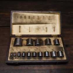 Vintage Boxed Set 15 No: Hoffmann Mfg Co Ltd Engineer's Rollers - Good Condition