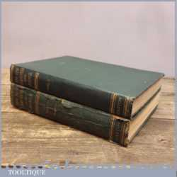 Two vintage books New Carpenter and Joiner written by R V Boughton